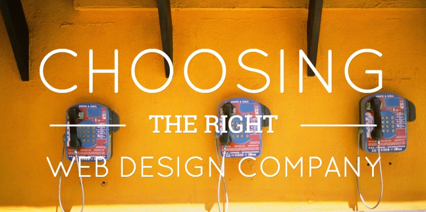 Things you should look before hiring a web design company