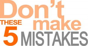 5 Mistakes That We Should Never Do While Using Google Adwords (PPC).